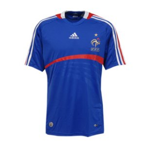 adidas france home jersey euro 2008