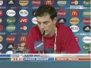 Croatia coach interview vs Turkey