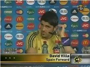 David Villa Press Conference