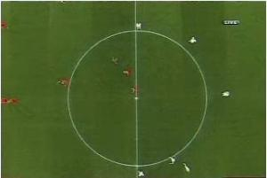 top-view-spain-vs-italy
