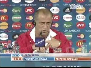 Turkey coach fatih terim interview vs Croatia